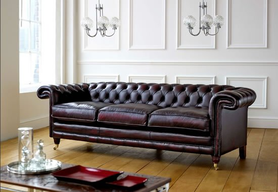 Berwick Chesterfield Leather Sofa   Buy Chesterfield Sofa Product On  Alibaba.com