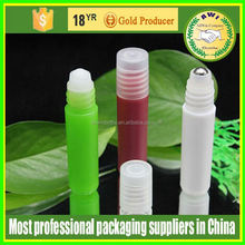 Rounded square shape and varied of shape more style more environmental plastic packaging cixi 30ml plastic roll on bottle
