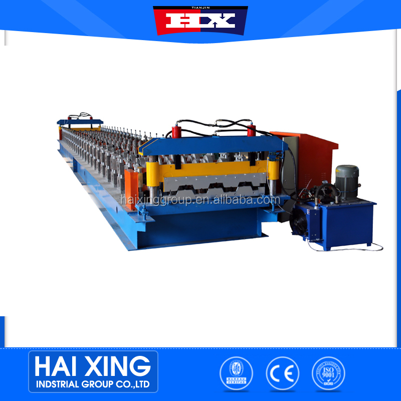 2016 hot sale all kinds roller machine cold forming equipment floor deck roll forming