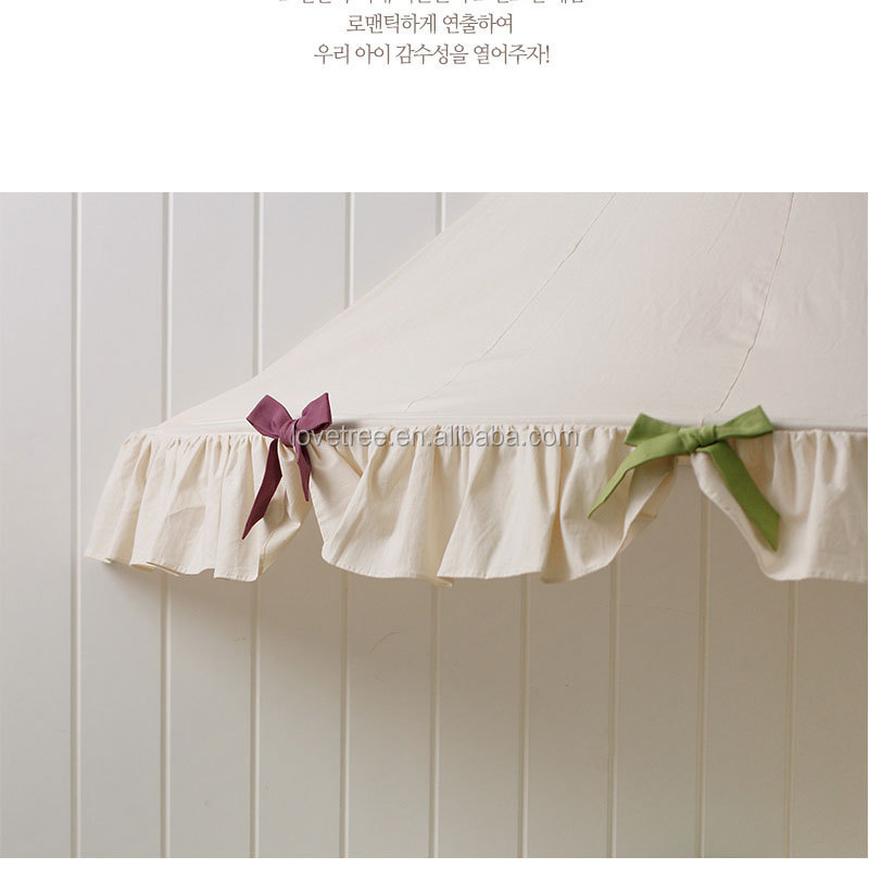 Half-moon Cotton Fabric canvas half moont child bed tent hanging teepee tent playhouse with  sc 1 st  Ningbo Love Tree Toy Co. Ltd. - Alibaba & Half-moon Cotton Fabric canvas half moont child bed tent hanging ...