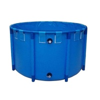 FC2008 Foldable Water Tank & Pool for Koi Fish Showing & Pet Swimming