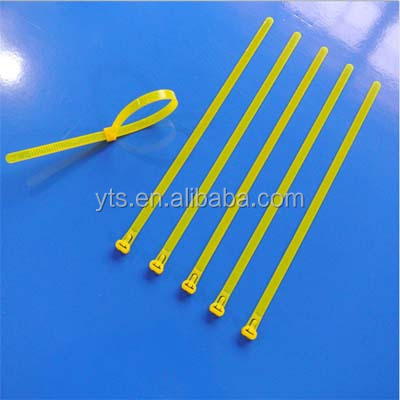 High quality black zip ties cable tie 200mm cable ties