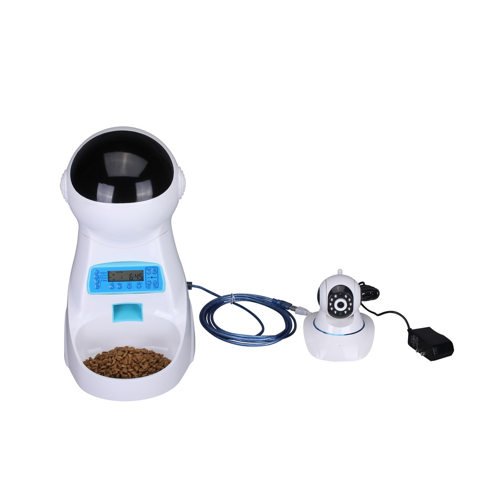 pet phone control dog cat automatic android itm remote smart feeder iphone