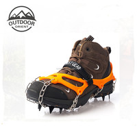 Non-slip Ice Snow Climbing Anti-Slip Shoe Covers Spike Cleats Crampons