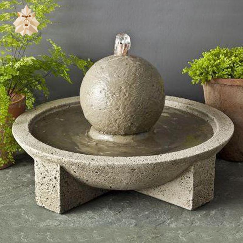 для тонкой современные фонтаны из бетона фото настоящей изюминкой коллекции