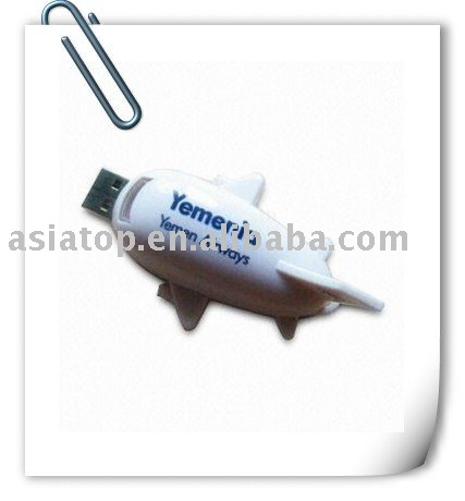 Jet Plane Shape USB Flash Memory AT-218