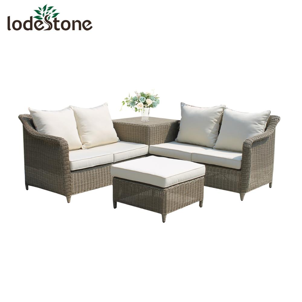 8pcs Modern Design Outdoor Used Wicker Corner Sofa For Sale Garden
