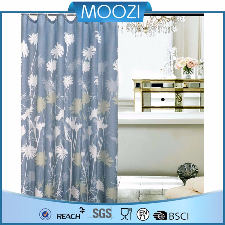 Shower Curtain With Matching Window Curtain Buy Polyester Shower Curtain Hookless Shower