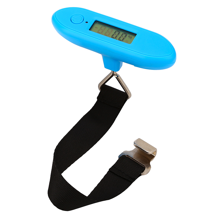 Simple Cheapest 40KG Blue Portable Luggage Scale