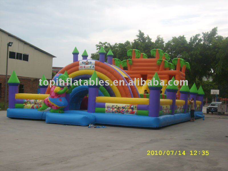 Inflatable fun city , TP-E9-0013,inflatable fun city games