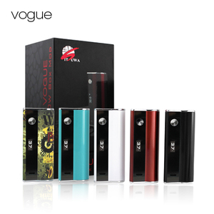 fancy build-in 18650 vv mod battery vape box mod with LCD screen