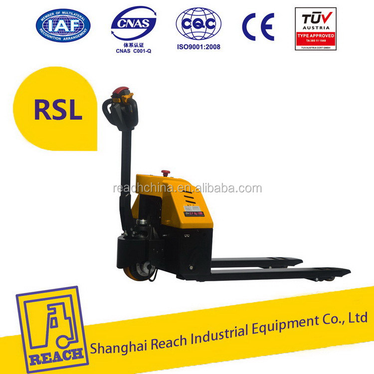 Top quality low price electric rider pallet trucks exporter