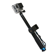 <span class=keywords><strong>Aluminium</strong></span> Uitschuifbare Selfie Stick Pole <span class=keywords><strong>Monopod</strong></span> met Gsm Clip voor GoPros Camera
