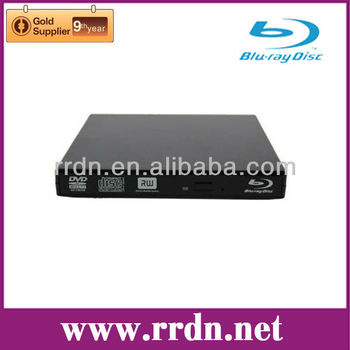 Slim USB Blu-ray combo reader player