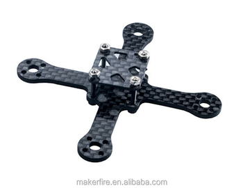 Drone frame 70mm carbon fiber price drone frame Kit for micro racing drone with wholesale price