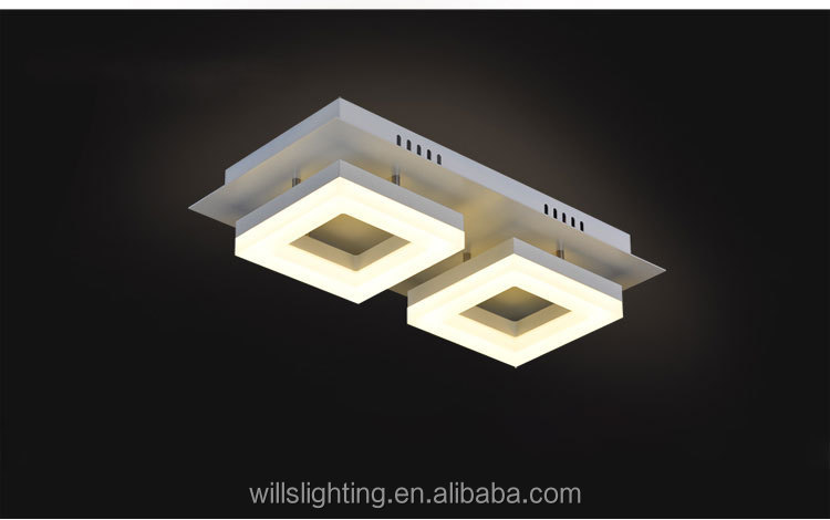 Innovative Modern Square Acrylic Led Ceiling Lights