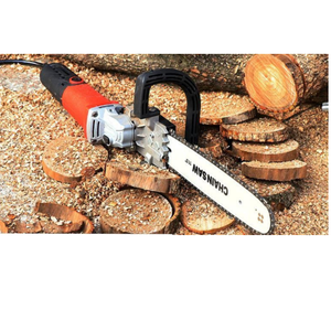 Good Market angle grinder chain saw for cutting wood