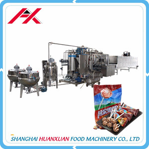 China Supplier Manufacturers Hard Candy Making Plant