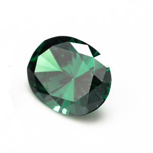 Wholesale loose emerald rough cubic zirconia gemstones loose cz gems for sale