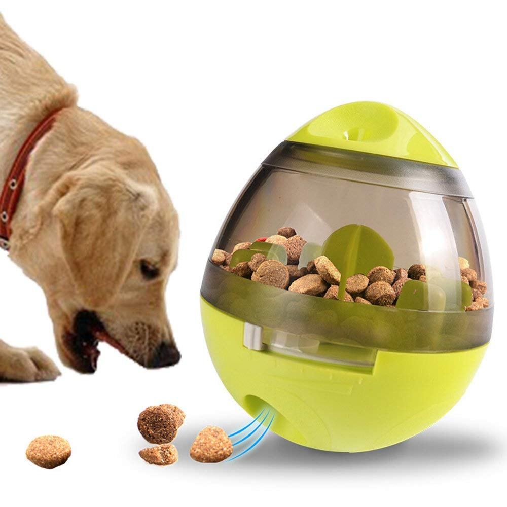 Yusenpet NEW Dog Tumbler Leakage Toy Food Dispensing Chew Toy Smart IQ Tumbler Leakage Food Ball Dogs Cats Training Exercise Toy, Teeth Cleaning Ball, ABS and PC Material