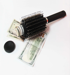 EASTONY hair brush safe great for stashing cash and would be an ideal gift for any youngsters in the home
