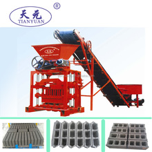 QTJ4-35B2 small scale brick making machine/small machine for concrete blocks/mini hollow blocks machine
