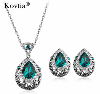 2017 New Style Mexican Costumes Accessory Pattern Waterdrop Jewelry Sets for Woman Formal Dress
