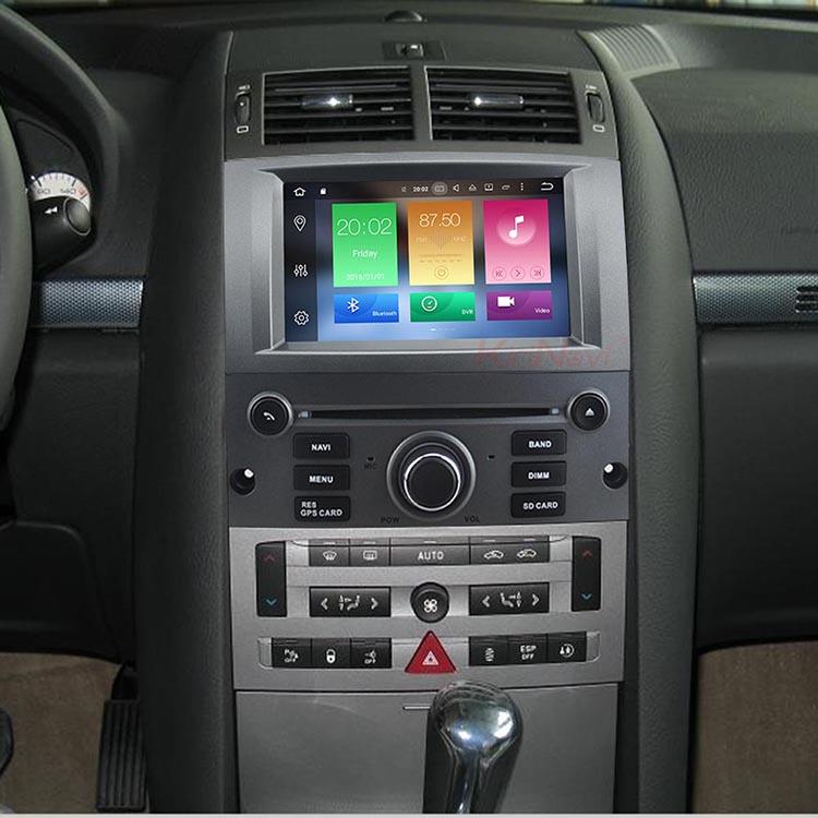 Kirinavi Wc Pt7407 Android 7 1 Car Radio Gps For Peugeot