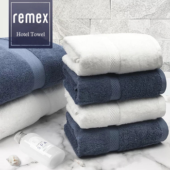 Best Selling Products Hotel Home Towel Highly Absorption Thick Luxury 100% Cotton Bath Towel Set With Customized Logo Sport use