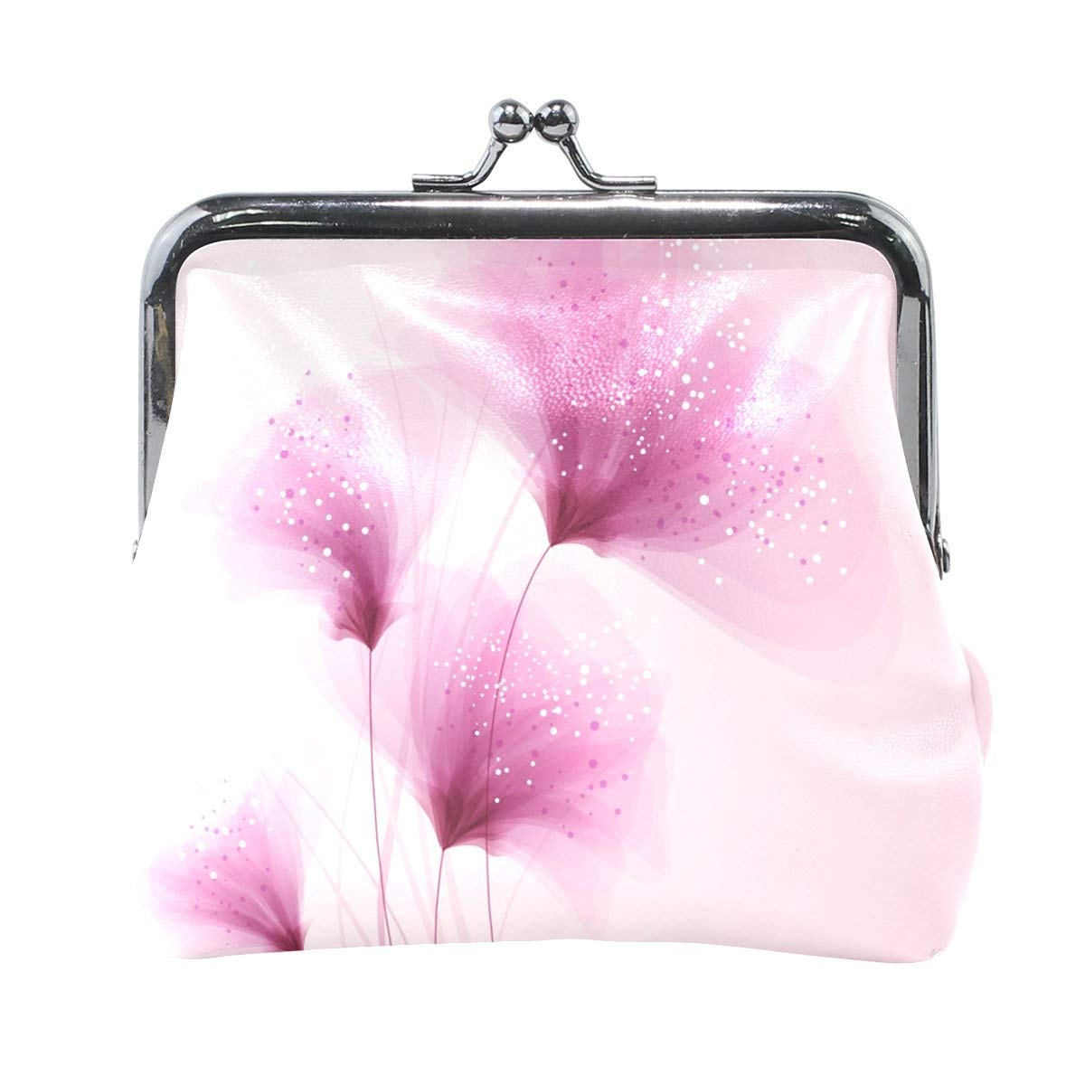Coin Purses Novelty Small Canvas Leopard Printing Coin Purses Floral Print Coin Purse Wallet With Hasp Mini Coin Earphone Key Carrying Bag Coin Purses & Holders