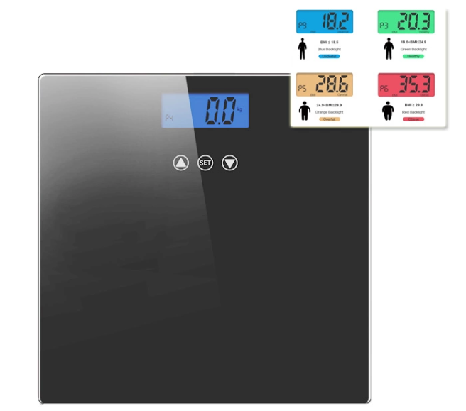 TS-B8012 Yongkang Electronic Temperature Digital Bathroom Weighing Scale