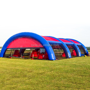 Customized Large inflatable paintball bunkers area for sale, cheap price inflatable paintball field