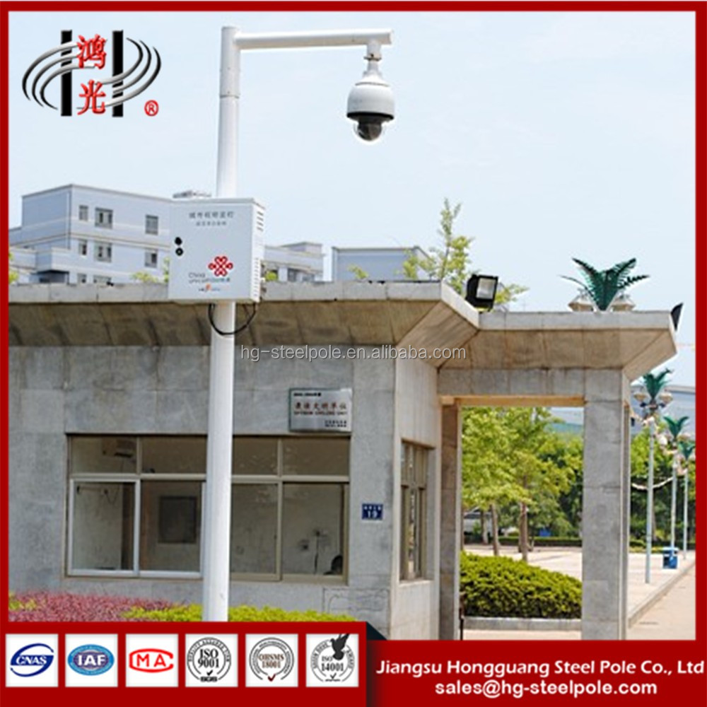 CCTV Mounting Poles for Monitoring