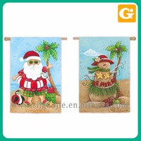 Wholesale beautiful Christmas garden flag stand