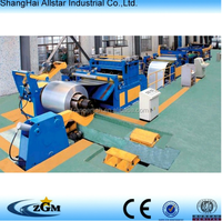 Uncoiling, leveling and cutting to length line/steel coil production line/Uncoiling leveling and cutting line