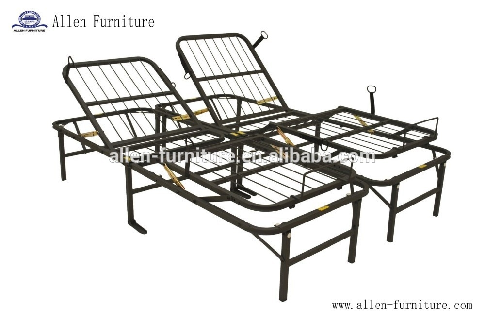 Heavy Duty Ajustable Somier Metal/metal Plegable Cama De Invitados ...