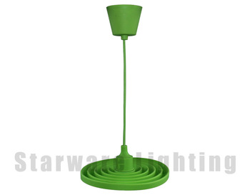 Colorful Silicone E26 E27 Lamp Holder