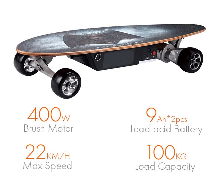 Hot Selling skateboards with motors motorized skateboard kit blank decks bulk