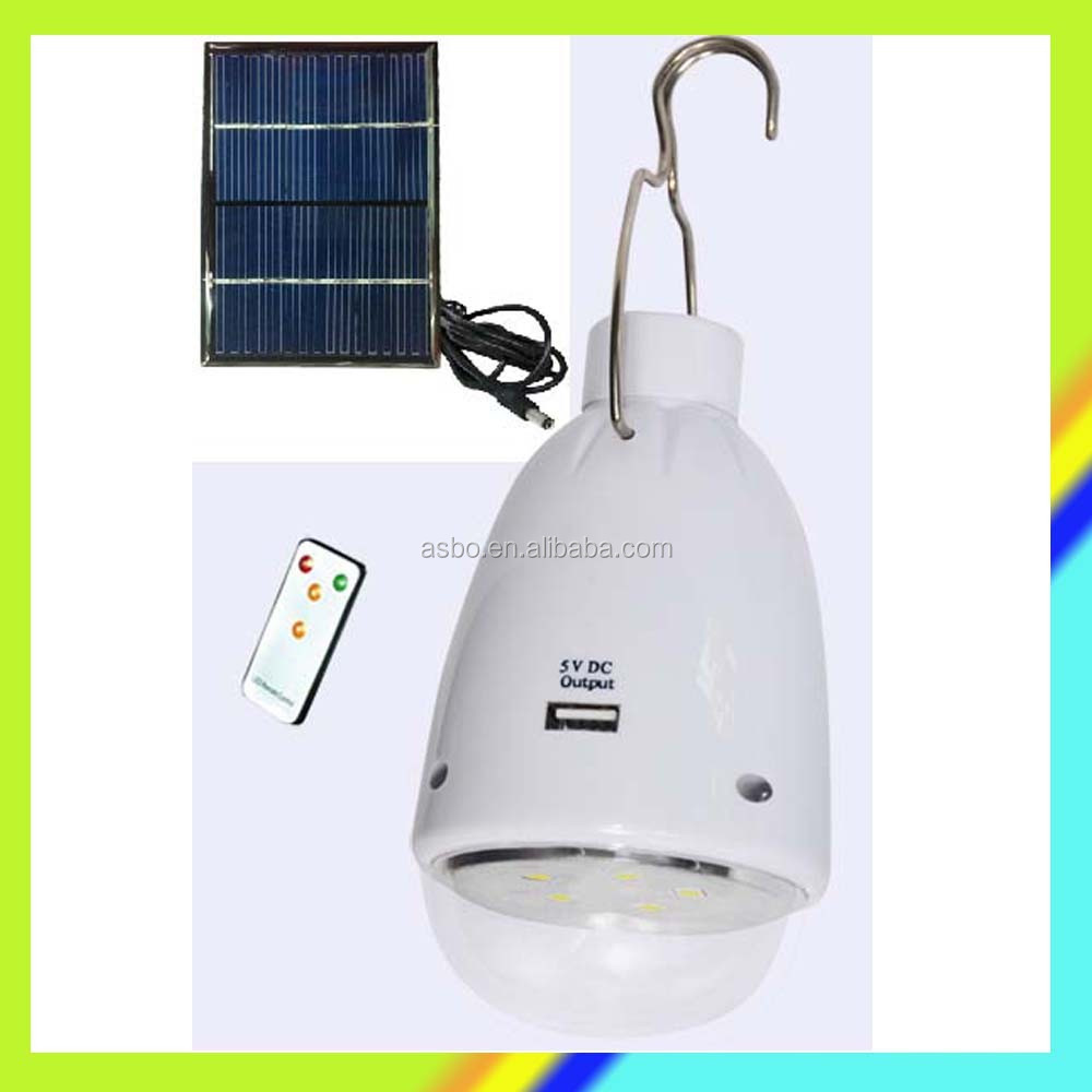 Rechargeable Led Light Solar,Phone Charger Bulb