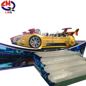 single track sliding car! Mobile double track floating car