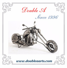 Antique metal motocycle model handmade crafts creative motorcycle model