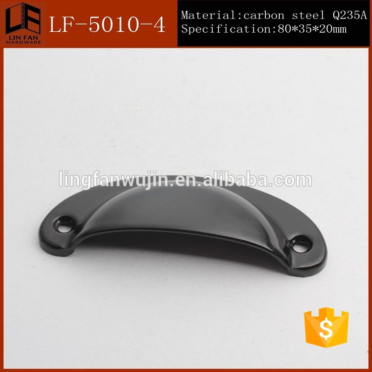 Oval Shaped Zinc Alloy Concealed Furniture Handles