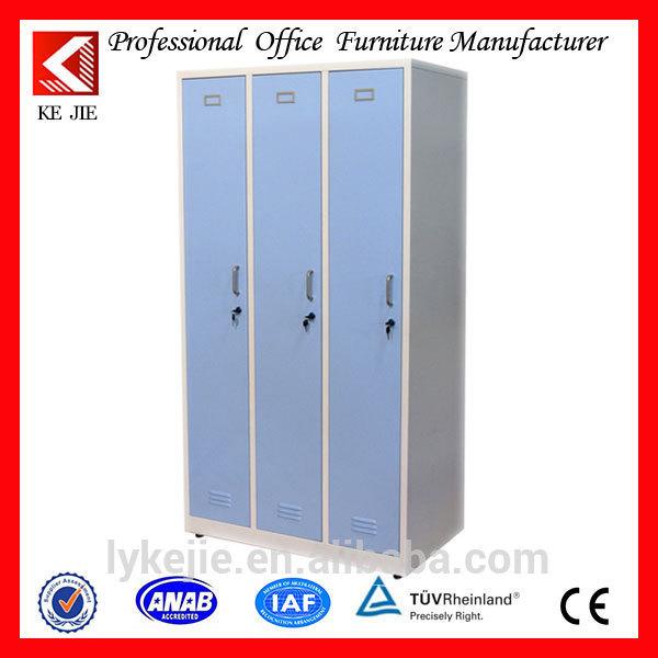 armoire de rangement avec stockages blanc htre 3 porte coulissante armoire avec rtroviseur intrieur moderne 3