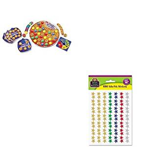 KITLRNLER7410TCR6644 - Value Kit - Learning Resources Smart Snacks Counting Cookies Game (LRNLER7410) and Teacher Created Resources Sticker Valu-Pak (TCR6644)