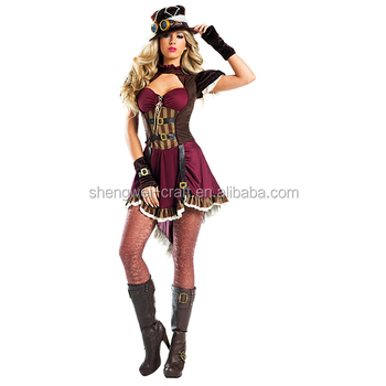 Factory hot sale ste&unk costume  sc 1 st  Alibaba & Factory Hot Sale Steampunk Costume - Buy Steampunk Costume Product ...