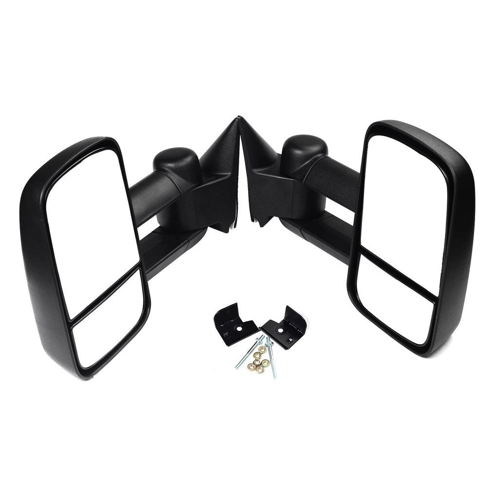 Towing Mirrors View Power Heated Signal LH RH Pair Set For 88-98 Chevy GMC Truck