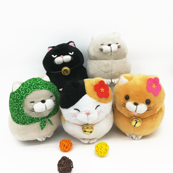 Superior Quality Amuse Cat Series Plush Toy Doll Public Lucky Cat