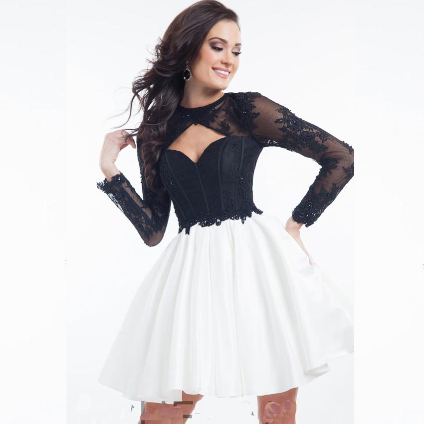 Short Corset Prom Dresses Black