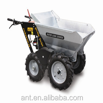 China powered wheelbarrows for sale muck truck mini dumper for Motorized wheelbarrows for sale