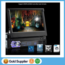 Car Radio player with GPS New bluetooth MP5 Audio Stereo FM Built in Bluetooth Phone USB/TF Car Electronics 1 DIN 12V 7 inch